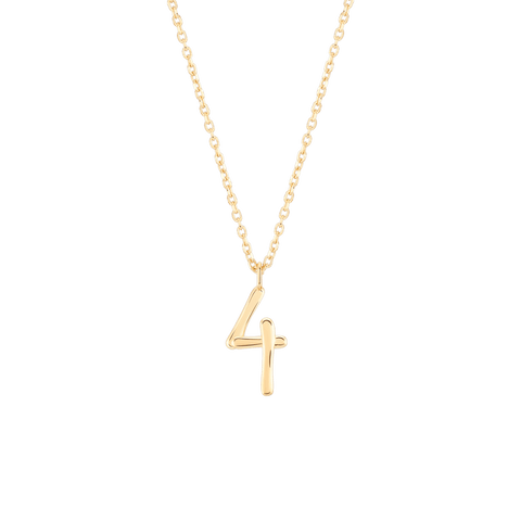 Wonther Number 4 Necklace