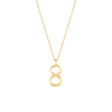 Wonther Number 8 Necklace