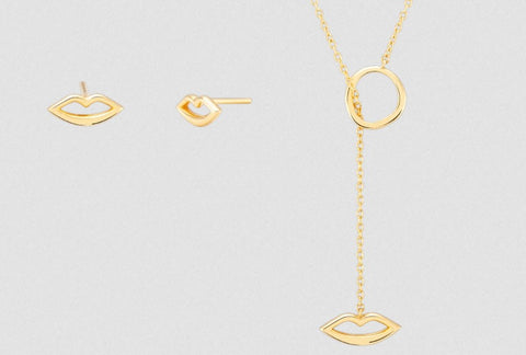 Ethical Jewelry Love  Silver Necklace Studs Wonther