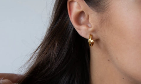 Ethical Jewelry Silver Hoops Earrings Wonther
