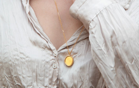 Ethical Jewelry Amulet Locket Necklace Wonther