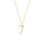 Number 7 Necklace - Wonther