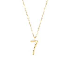 Number 7 Necklace
