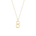 Number 8 Necklace - Wonther