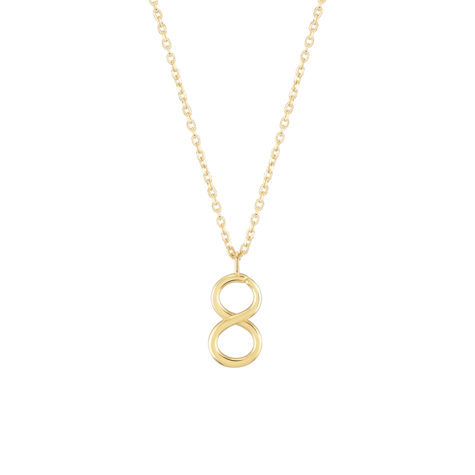 Number 8 Necklace