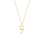 Number 9 Necklace - Wonther