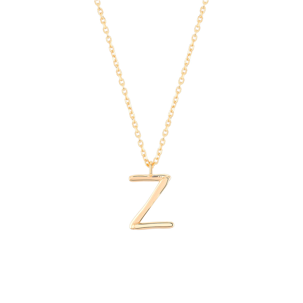 Initial Z Necklace