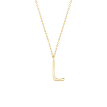Load image into Gallery viewer, Initial L Necklace