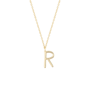 Load image into Gallery viewer, Initial R Necklace