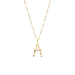 Load image into Gallery viewer, Initial A Necklace