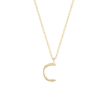 Load image into Gallery viewer, Initial C Necklace
