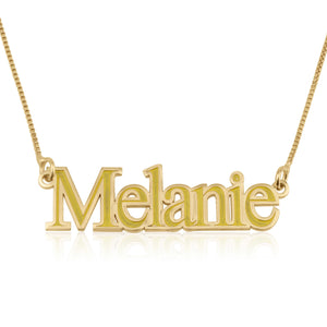 Custom Colorful Name Necklace