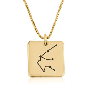 Aquarius Constellation Necklace - Beleco Jewelry