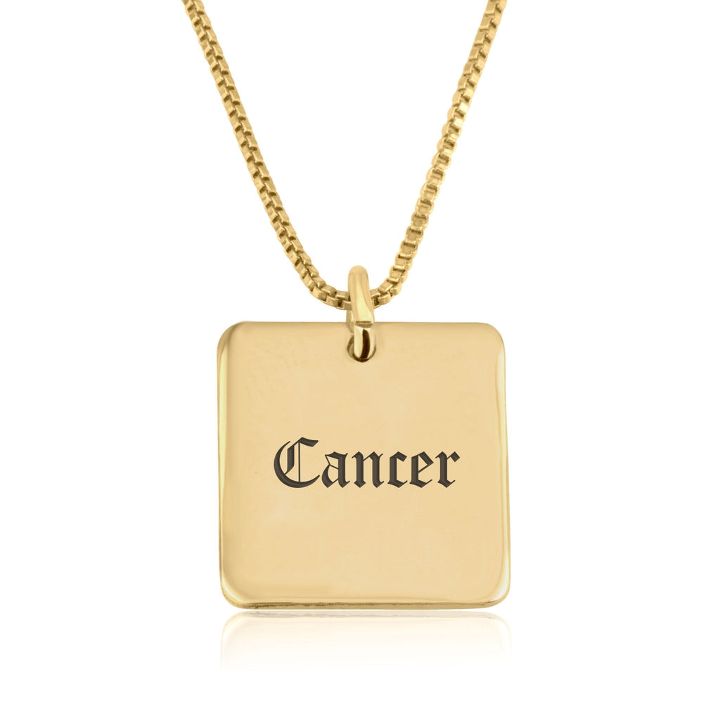 Cancer Charm Necklace - Beleco Jewelry