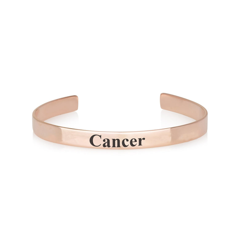 Cancer Leo Cuff Bracelet - Beleco Jewelry