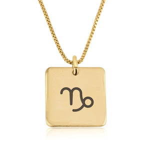 Capricorn Celestial Necklace - Beleco Jewelry
