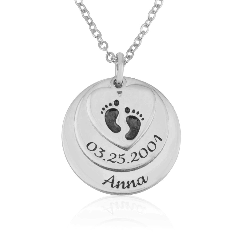 Custom Birth Certificate Necklace - Beleco Jewelry