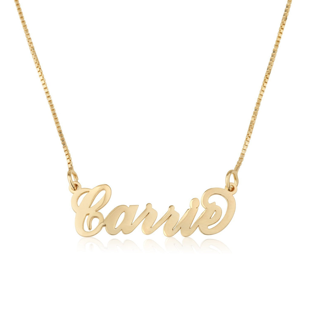 Custom Carrie Name Necklace - Beleco Jewelry