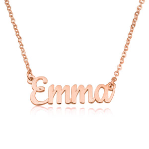 Custom Name Necklace - Beleco Jewelry