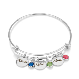 Customize Disk Bracelet - Beleco Jewelry
