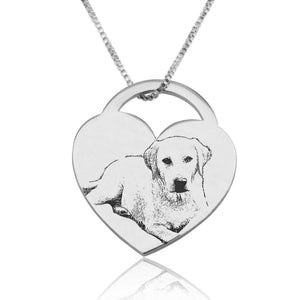 Customize Dog Picture Necklace - Beleco Jewelry