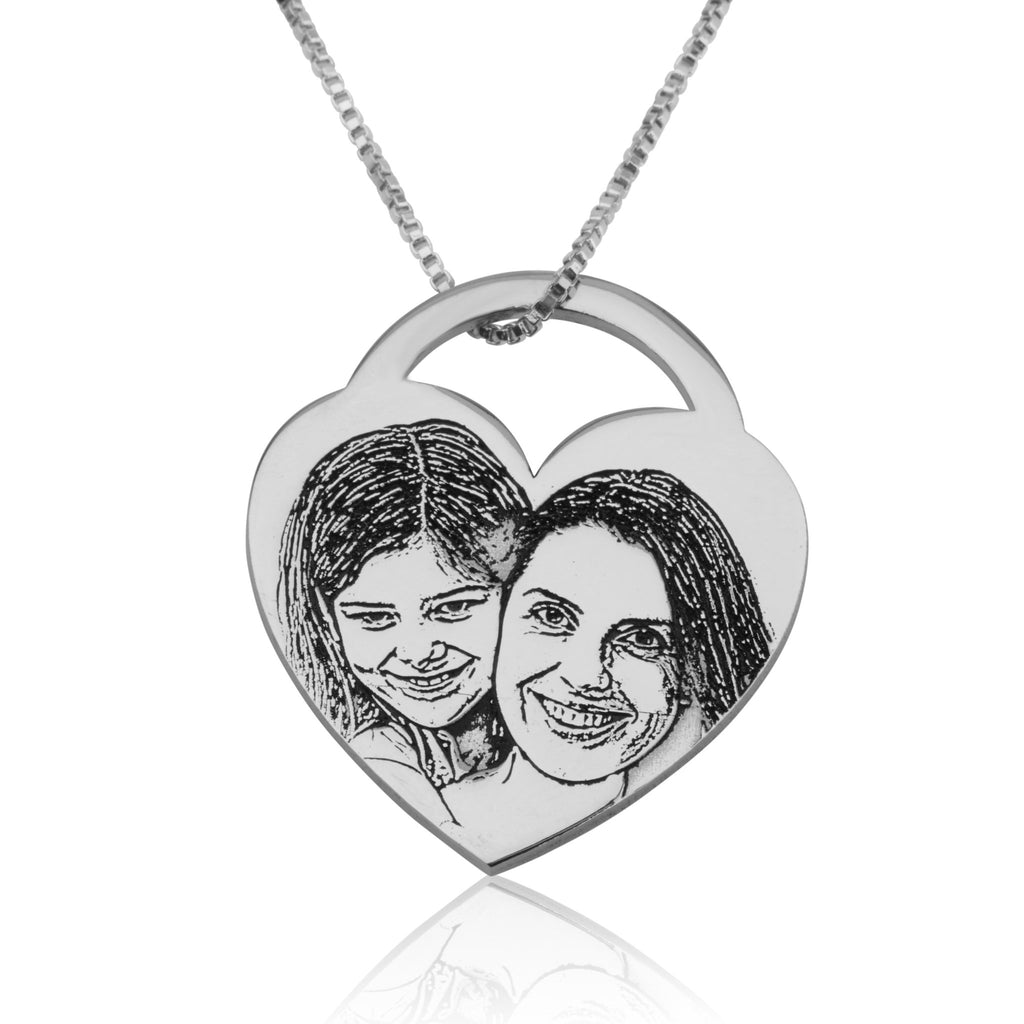 Customize Picture Necklace - Beleco Jewelry