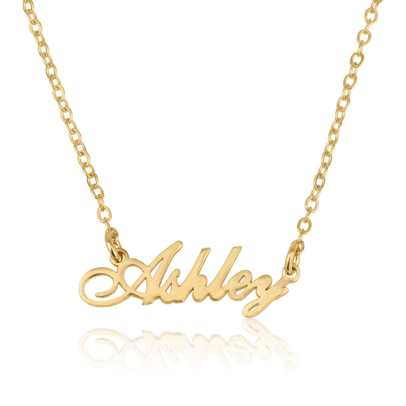 Dainty Name Necklace - Beleco Jewelry