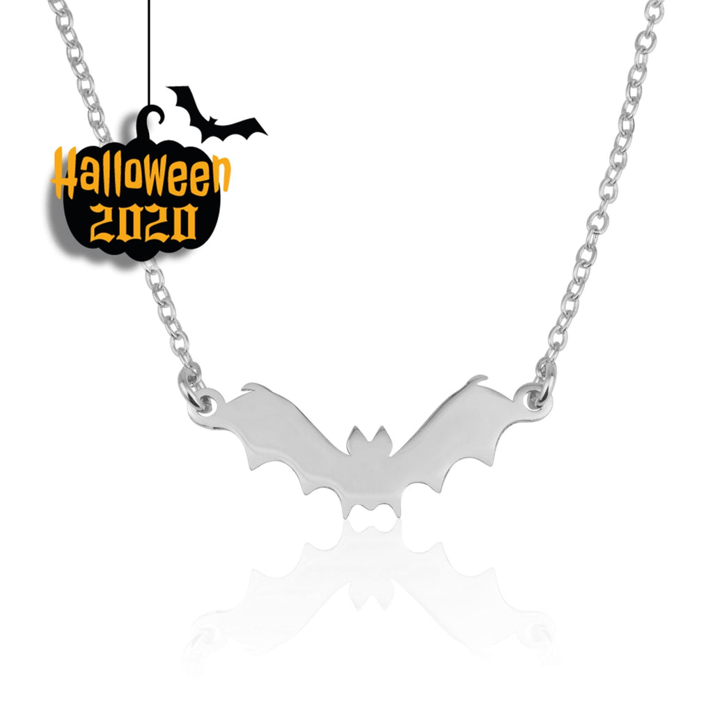 Halloween Bat Necklace - Beleco Jewelry