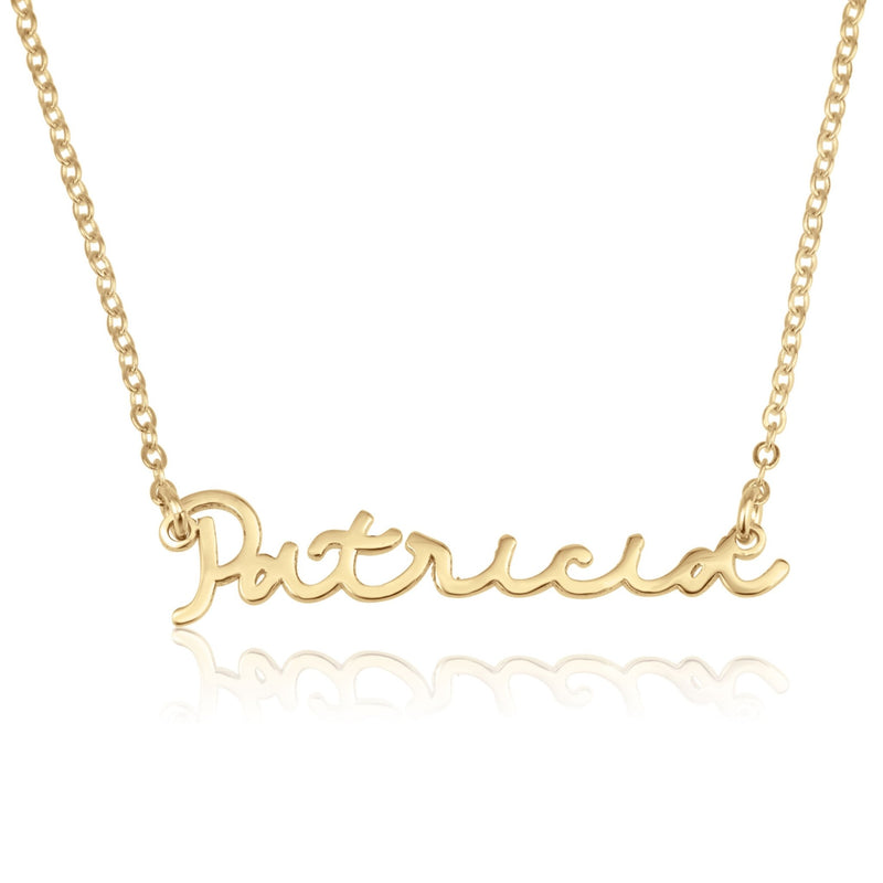 Handwriting Name Necklace - Beleco Jewelry