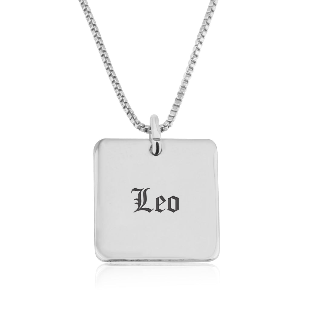 Leo Charm Necklace - Beleco Jewelry
