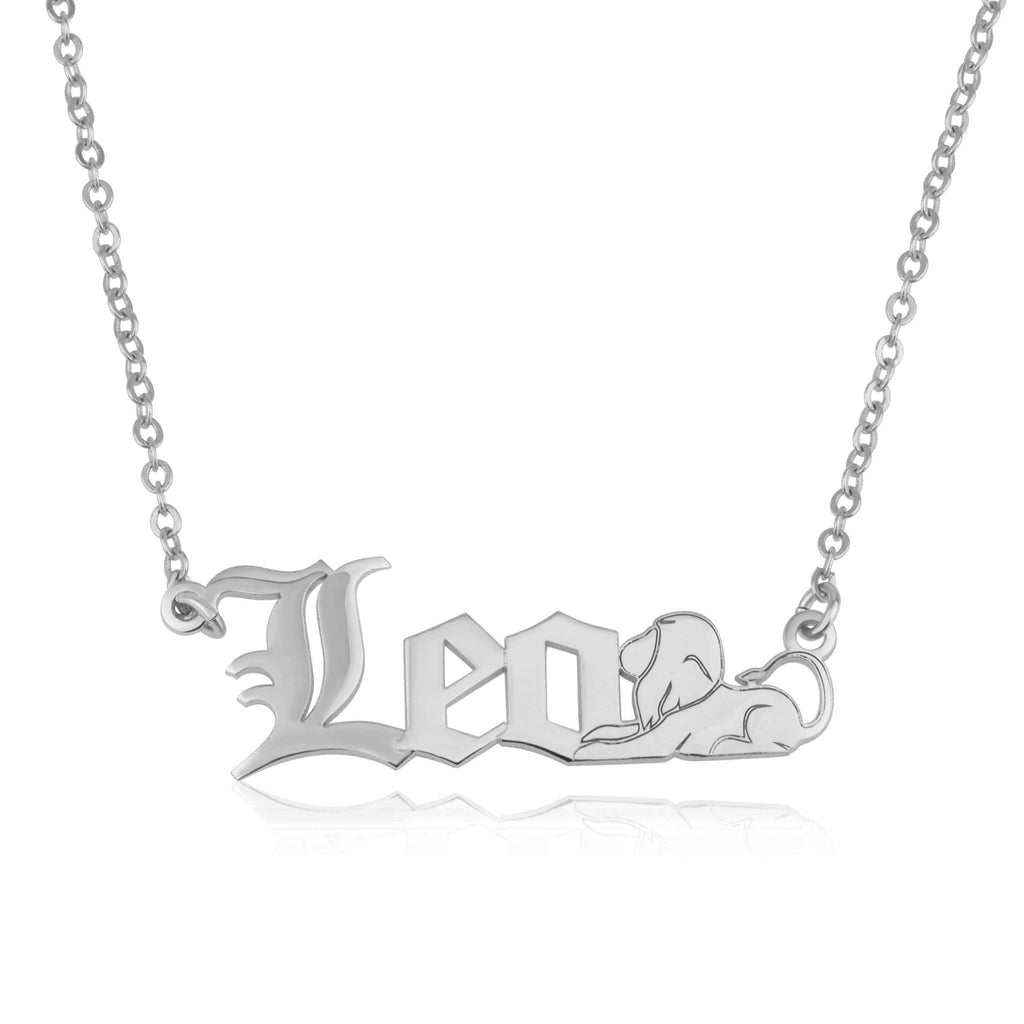Leo Symbol Necklace - Beleco Jewelry
