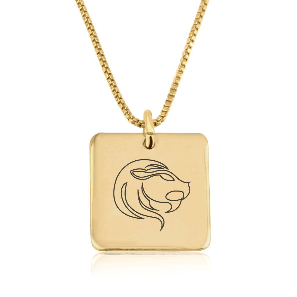 Leo Zodiac Necklace - Beleco Jewelry