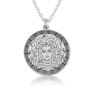 Medusa Ancient Greece Necklace - Beleco Jewelry