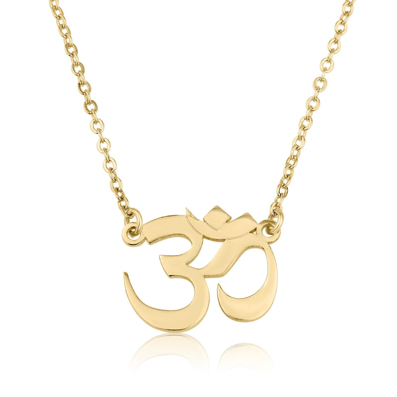 Om Necklace - Beleco Jewelry