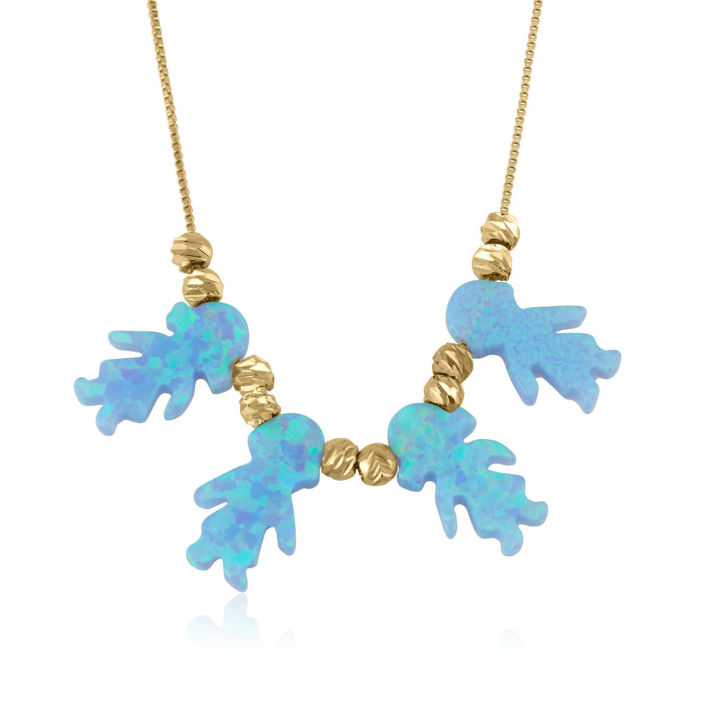 Opal Children Necklace - Beleco Jewelry
