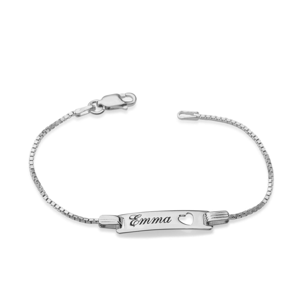 Personalized Baby Name Bracelet - Beleco Jewelry