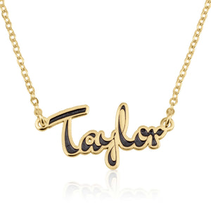 Personalized Colorful Name Necklace - Beleco Jewelry
