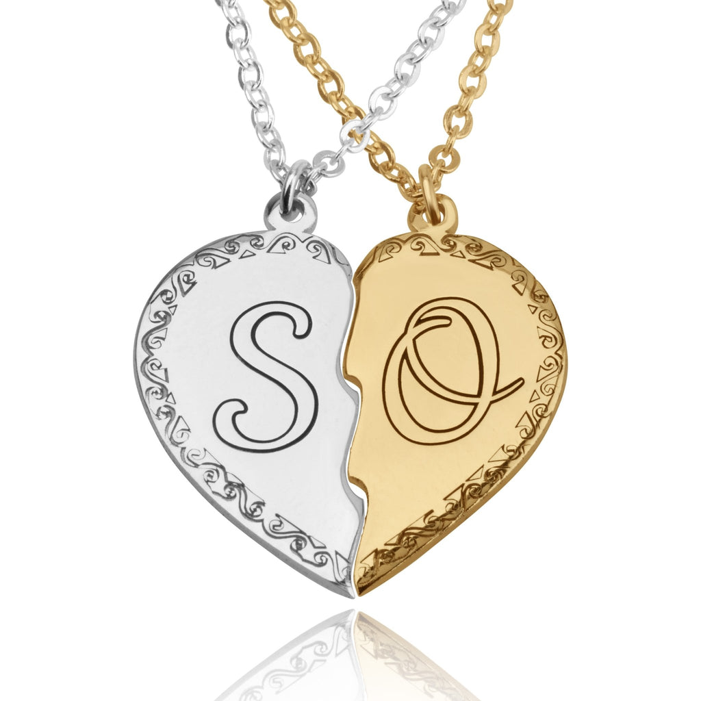 Personalized Couple Necklace - Beleco Jewelry
