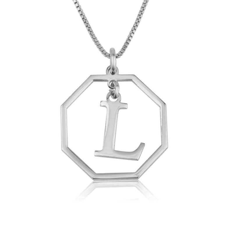 Personalized Letter Necklace - Beleco Jewelry