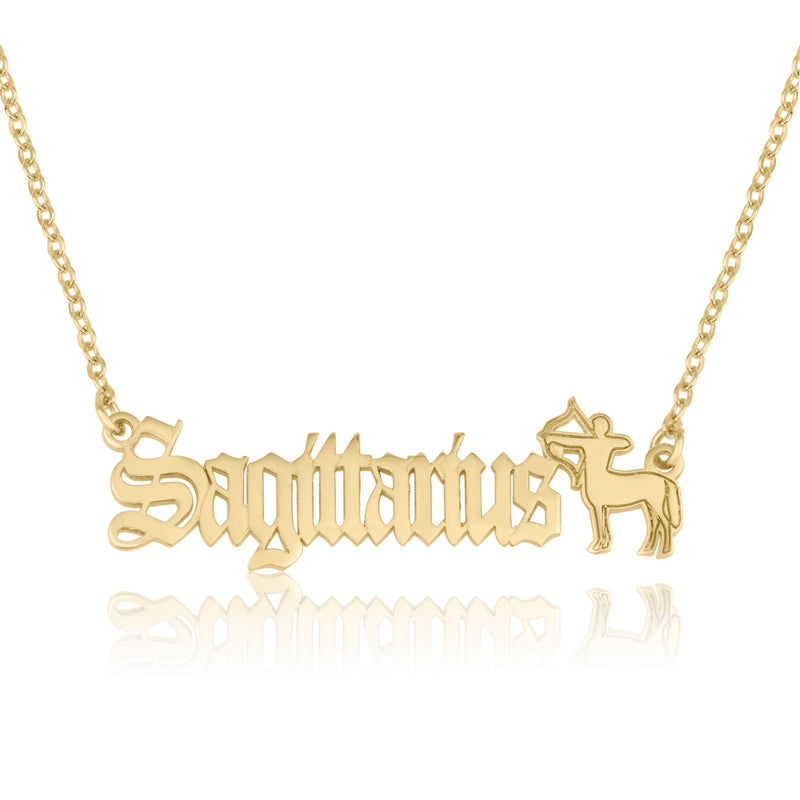 Sagittarius Symbol Necklace - Beleco Jewelry