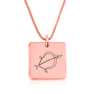 Sagittarius Zodiac Necklace - Beleco Jewelry