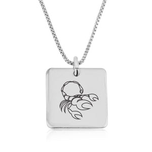 Scorpio Zodiac Necklace - Beleco Jewelry