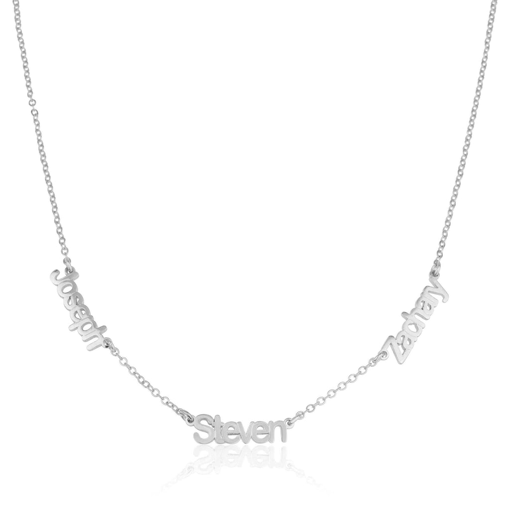 Three Name Necklace - Beleco Jewelry