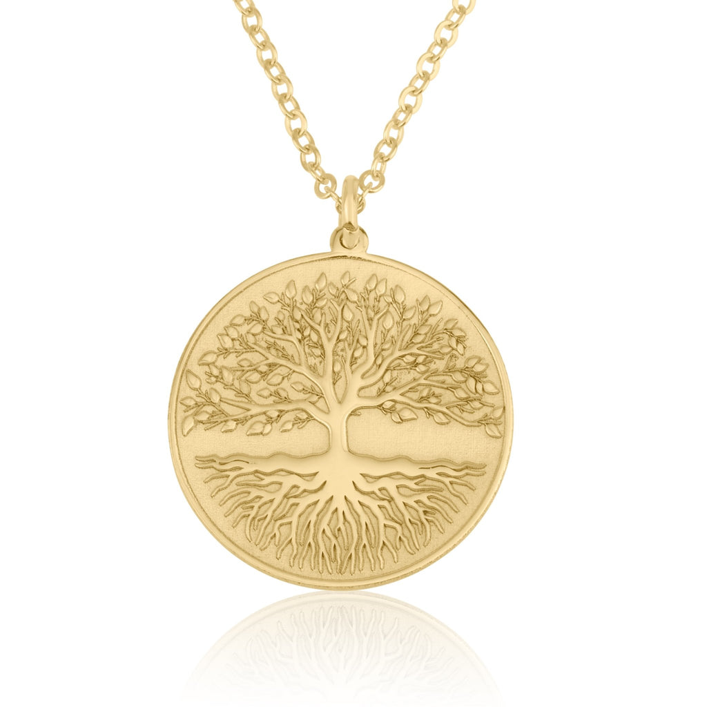 Tree Of life Charm Necklace - Beleco Jewelry