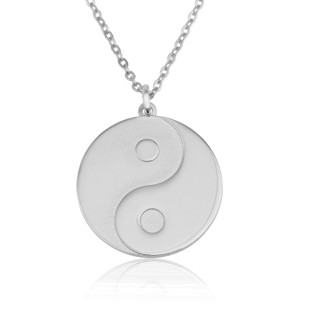 Yin Yang Necklace - Beleco Jewelry