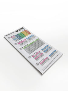 <strong>Healthy Range Chart</strong><br><p> 50 Tear Off Sheets Measurement Pad</p>