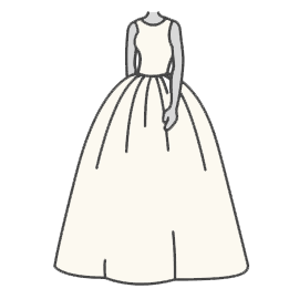 Ball Gown Wedding Dress Silhouette Guide