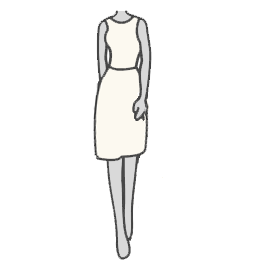Tea-Length and Cocktail Wedding Dress Silhouette Guide