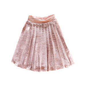 IAG0148 - I'm A Girly Light Pink Pleated Skirt Light Pink Pleated Skirt - Click Distribution (UK) Ltd