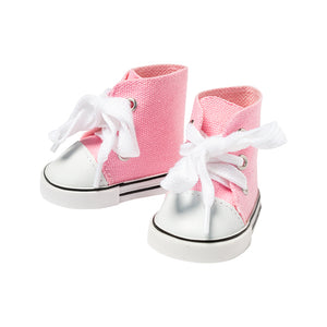 IAG0988 - I'm A Girly Pink Sneakers Pink Sneakers - Click Distribution (UK) Ltd